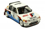 Peugeot 205 T16 #6 Rally Monte Carlo 1:18 18RMC021
